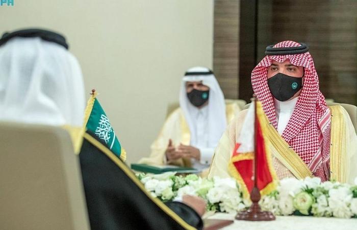 عبدالعزيز بن سعود ووزير الداخلية البحريني يرأسان الاجتماع الأول للجنة التنسيق الأمني