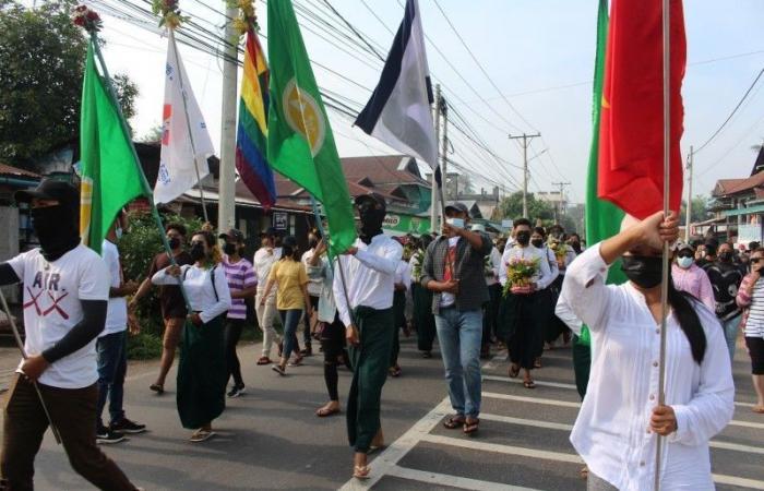 عقوبات أوروبا تجلد 10 مسؤولين عسكريين في ميانمار