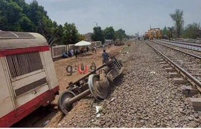 5 اتهامات لـ 23 متهمًا وآخرين في حادث قطار طوخ