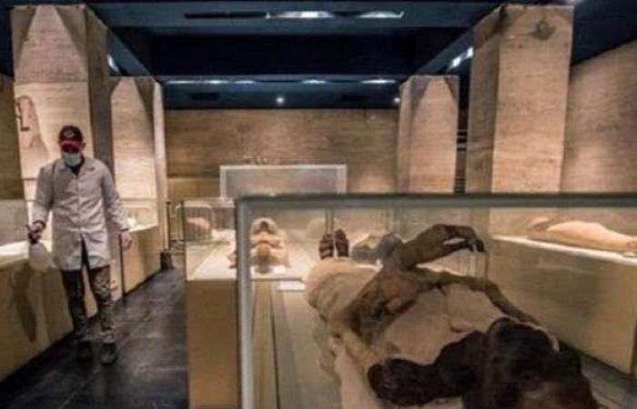 """إجراء جديد من الآثار خاص بـ """"قاعة المومياوات الملكية"""" بمتحف الحضارة"""