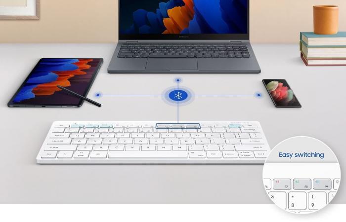 سامسونج تطلق لوحة مفاتيح لاسلكية تناسب DeX