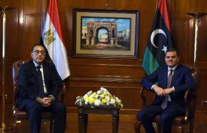 مدبولى لنظيره الليبي: السيسي حريص على دعم كافة المشروعات التنموية في طرابلس