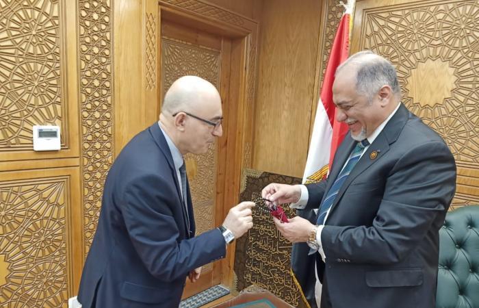 """رئيس """"تضامن النواب"""" يبحث مع مستشار سفارة أوزبكستان سبل تفعيل الصداقة بين البلدين"""