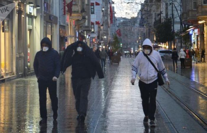 تركيا تسجل حصيلة وفيات لم تحدث منذ بدء جائحة كورونا