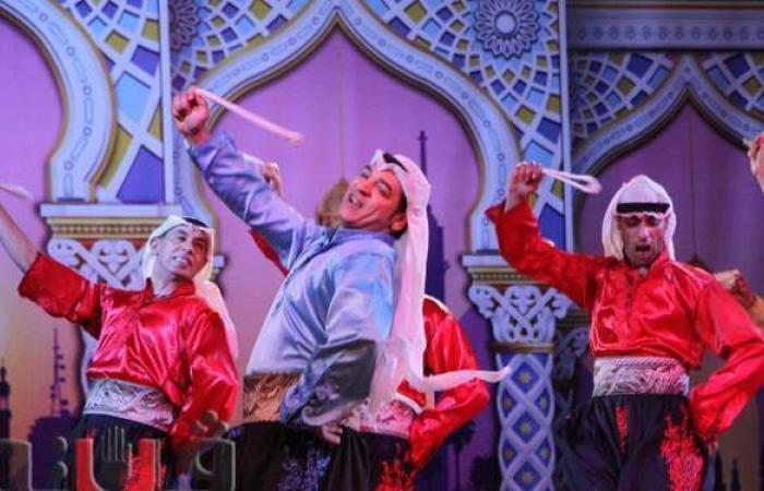 بالدبكة والشمعدان.. القومية للفنون الشعبية تحيي ليالي رمضان على مسرح الهناجر | صور