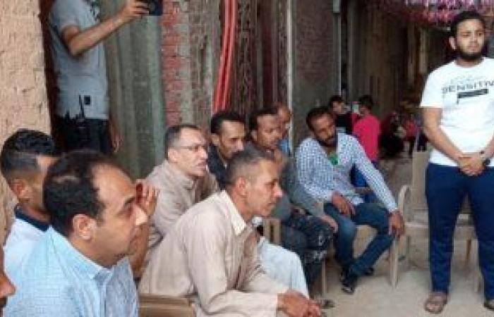 محافظة القاهرة تناقش مشاكل واحتياجات مدينة الأمل مع الأهالى