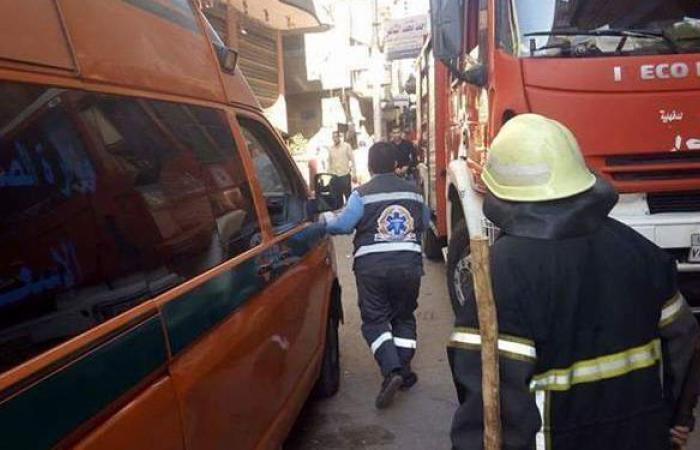 إصابة اثنين في حريق شقة بالدقهلية
