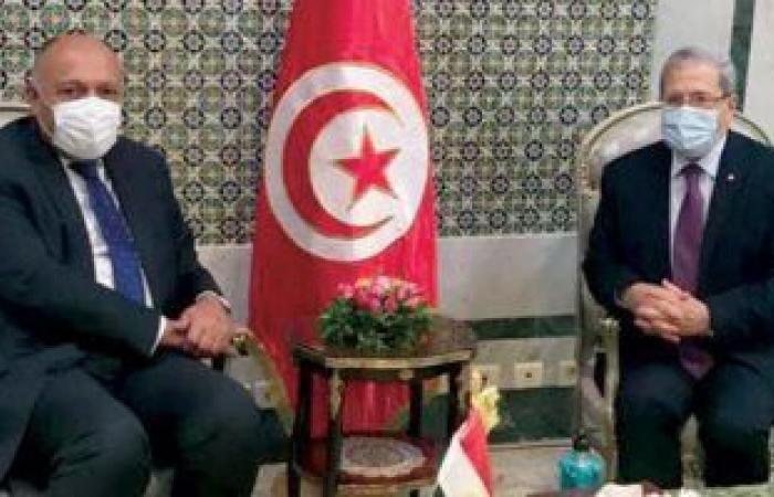 وزير الخارجية التونسي يؤكد على متانة العلاقات التي تربط بين مصر وتونس