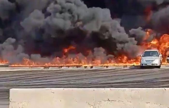مصر... السيطرة على حريق شرقي القاهرة