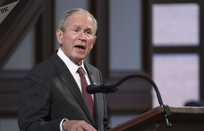 جورج دابليو بوش يكشف عن الاسم الذي صوت له في الانتخابات الرئاسية الأمريكية الأخيرة