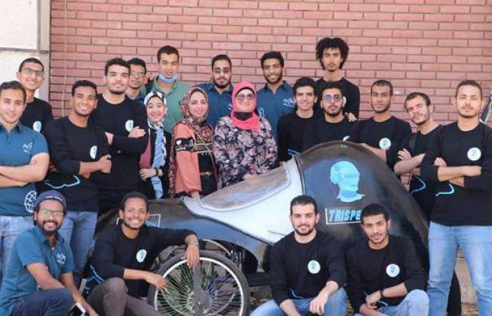 طلاب جامعة أسيوط أوائل مسابقة المركبات الدولية محليا والـ22 عالميا