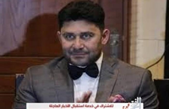 """من خلال """"الفجر الفني"""" أحمد شاكر عبد اللطيف يوجه رسالة لأهالي الشهداء"""