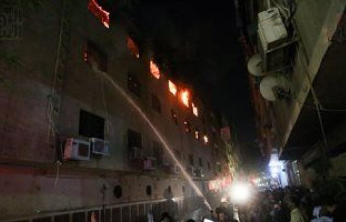 الداخلية: خلل فى التوصيلات الكهربائية وراء حريق كنسية مارمينا
