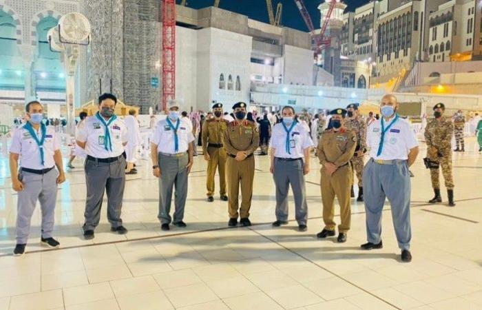 مدير الأمن العام يشيد بدور قادة كشافة مكة الريادي في خدمة المعتمرين
