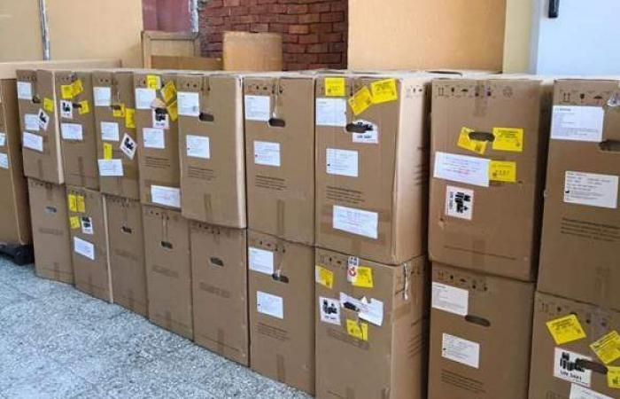الصحة: إرسال ٣٠ طنا من الأجهزة والمستلزمات الطبية إلى الهند للتصدي لكورونا