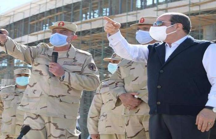 السيسي: عمال مصر قادرون على استكمال مسيرة التنمية