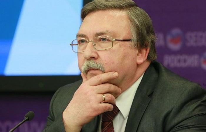 أوليانوف: هناك تقدم وأسباب للتفاؤل في محادثات فيينا لإحياء الاتفاق النووي مع إيران