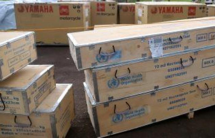 البحرين ترسل معدات طبية إلى الهند لدعمها فى مواجهة جائحة كورونا