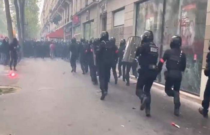 تظاهرات في فرنسا بمناسبة عيد العمال