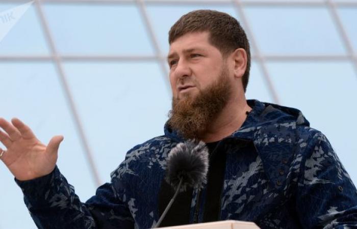 بالفيديو... نزال يجمع رئيس الشيشان والمقاتل حمزة شيماييف