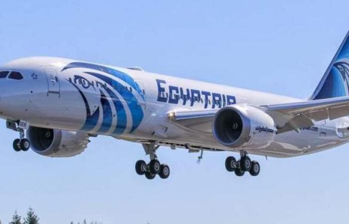 مصر للطيران تنظم اليوم ٦٦ رحلة دولية وداخلية لنقل أكثر من ٥١٧٨ راكبا