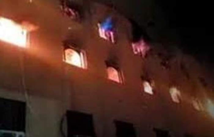 النيابة تطلب حصر خسائر حريق كنيسة مار مينا بالعمرانية