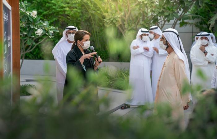 حاكم دبى يطلق المرحلة الأولى من مشروع وادى تكنولوجيا الغذاء.. صور