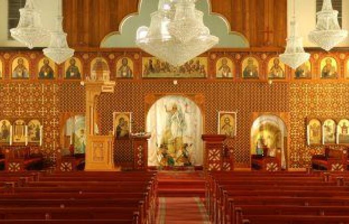 دير العذراء بأخميم يعتذر عن استقبال الزائرين فى عيد القيامة بسبب كورونا