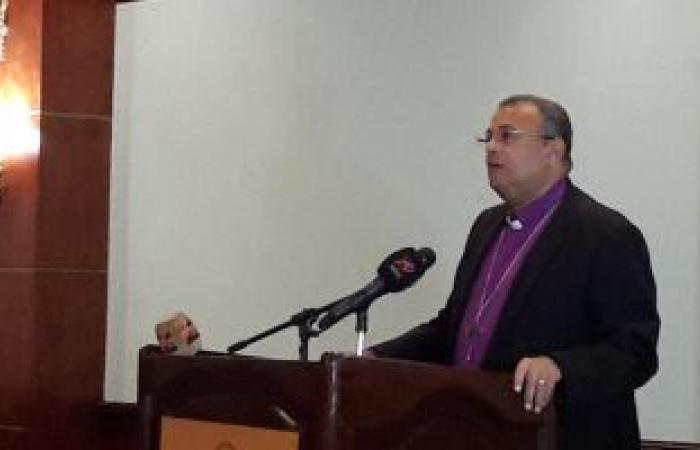 الطائفة الإنجيلية تحتفل اليوم بعيد القيامة فى كنيسة مصر الجديدة بدون حضور شعبى