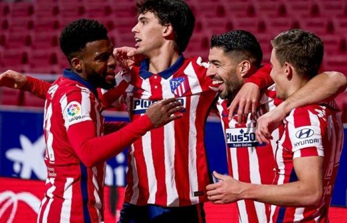 تشكيل أتليتكو مدريد أمام إلتشي فى الليجا الإسبانية