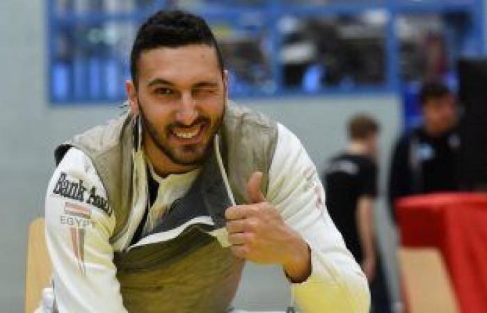 هنا الأولمبياد.. علاء أبو القاسم يحقق أول ميدالية مصرية وأفريقية فى الشيش