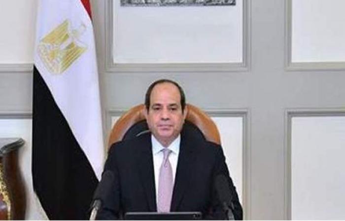 السيسي: المصريون ضربوا المثل في إعلاء قيمة العمل على الرغم من التحديات الجسيمة