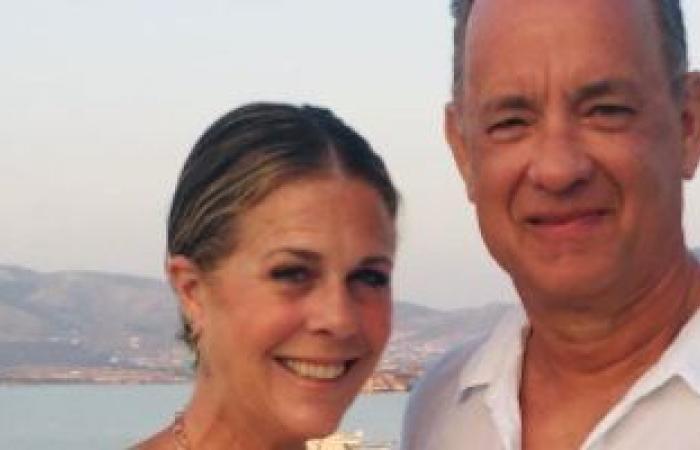 ريتا ويلسون تحتفل بمرور 33 عاما على زواجها من توم هانكس.. اعرف قالت إيه