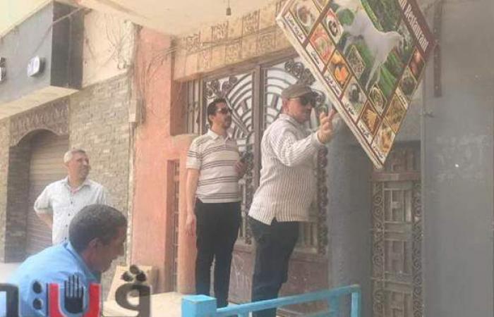 حملة للإجراءات الاحترازية وصلاة العيد بالأماكن المفتوحة بالزقازيق