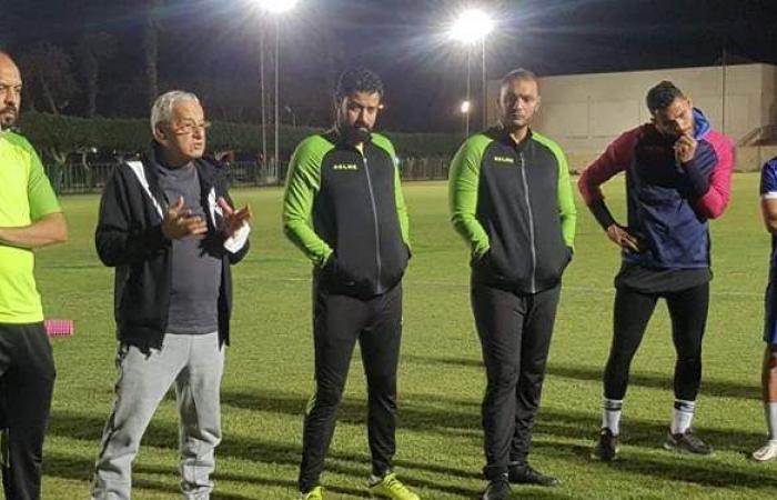 تفاصيل جلسة محسن صلاح مع لاعبي المقاولون بعد التعادل مع الزمالك