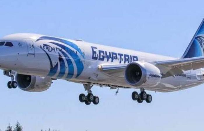 مصر للطيران تنقل 7500 راكب على متن 112 رحلة