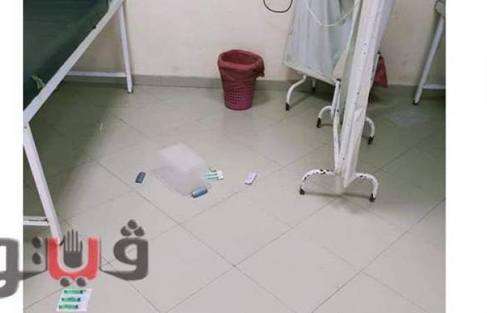 اعتداء أسرة مصاب بالكورونا على الطاقم الطبي بمستشفى المحلة