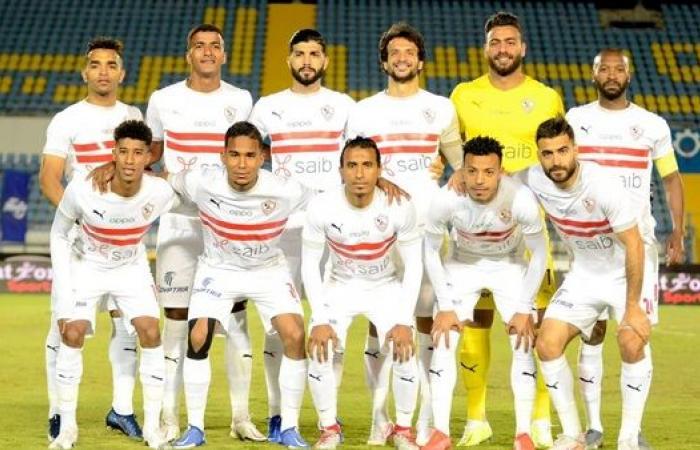 كارتيرون يستقر على تشكيل الزمالك ضد بيراميدز في الدوري المصري