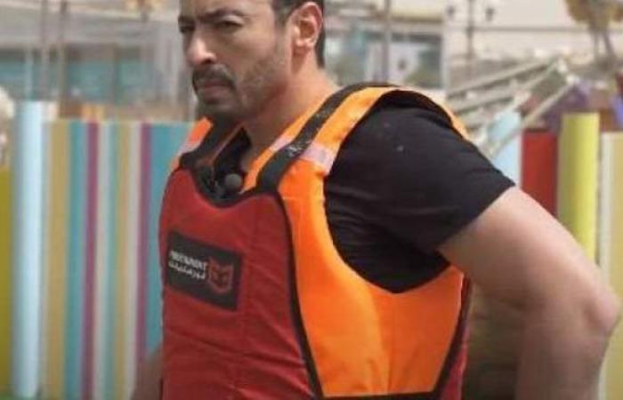 رامز جلال بعد تورم شفتي حمادة هلال: نجلاء بدر قاعدة قدامي | فيديو