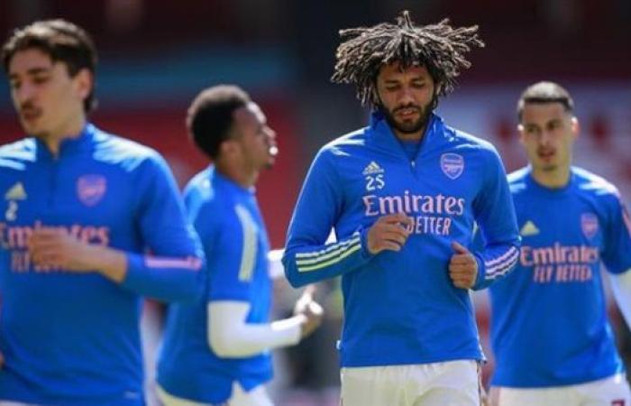 النني يزين تشكيلة أرسنال أمام نيوكاسل في الدوري الانجليزي