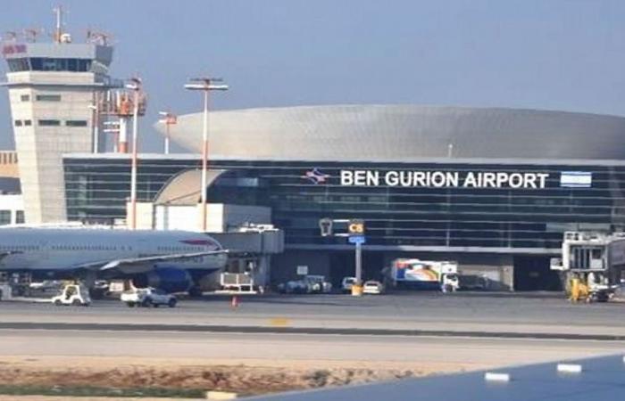 حريق كبير بجوار مطار بن جوريون في إسرائيل وإخلاء المنازل المجاورة