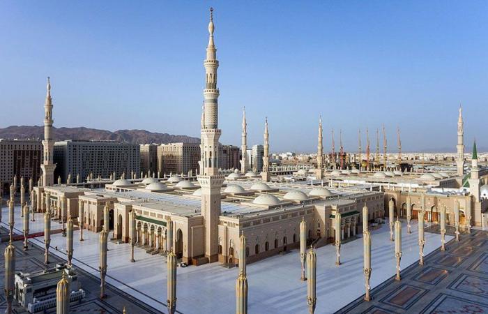 افتتاح المسجد النبوي على مدار الساعة خلال العشر الأواخر من رمضان