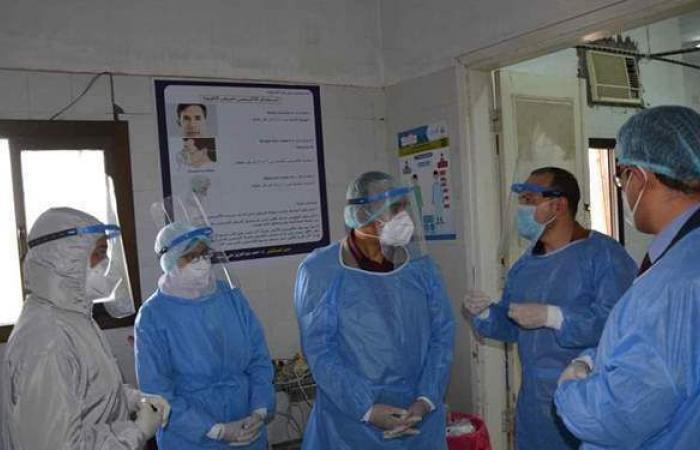 نائب المحافظ يتابع الخدمة الصحية بمستشفى بنى مزار المركزى