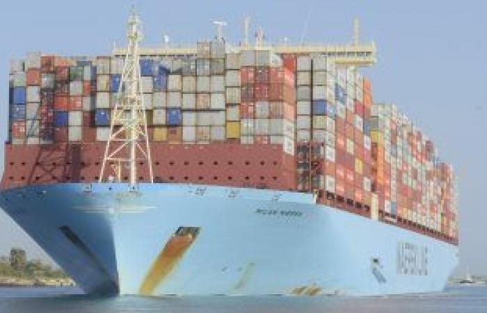 مليار و207 مليون طن حمولات السفن العابرة قناة السويس 2019 والحاويات فى الصدارة
