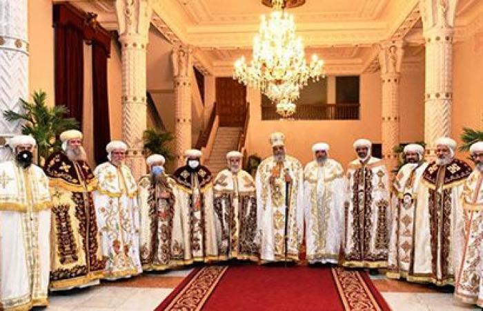 البابا تواضروس يشكر الرئيس السيسى على التهنئة بعيد القيامة المجيد