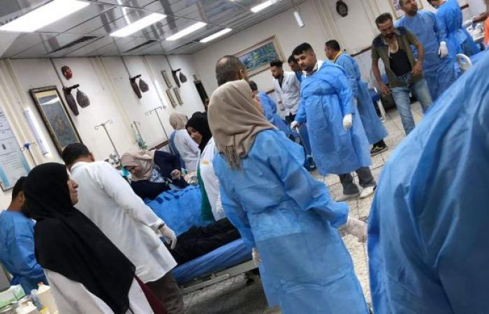 بعد فاجعة ابن الخطيب... حريق مفتعل يشب بمستشفى لعلاج مرضى كورونا في بغداد