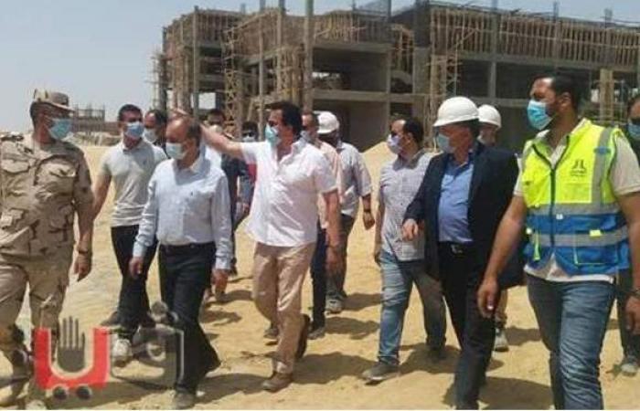 عبد الغفار وشعلان يتفقدان جامعة الزقازيق الأهلية الجديدة