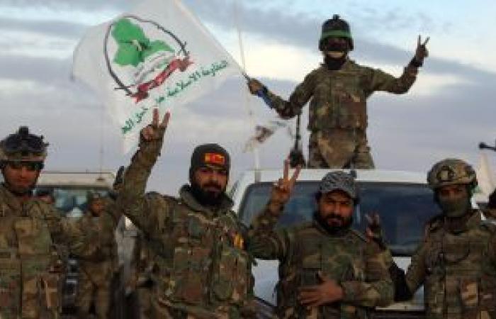 """مدفعية الحشد الشعبى تقصف مواقع لـ""""داعش"""" شمالى العراق"""