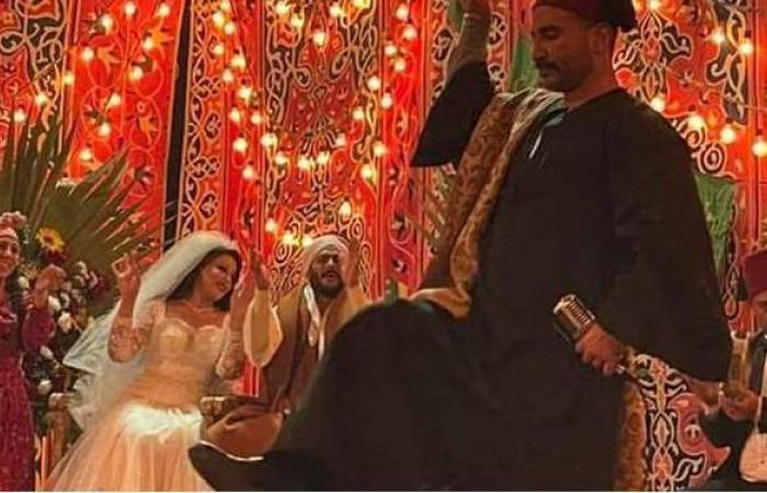 «موسى» الحلقة ٢١.. أحمد سعد يغني ويرقص في فرح سمية الخشاب ومحمد رمضان