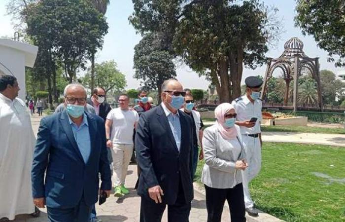 محافظ القاهرة يتابع غلق الحدائق والمتنزهات في جولة بالعاصمة